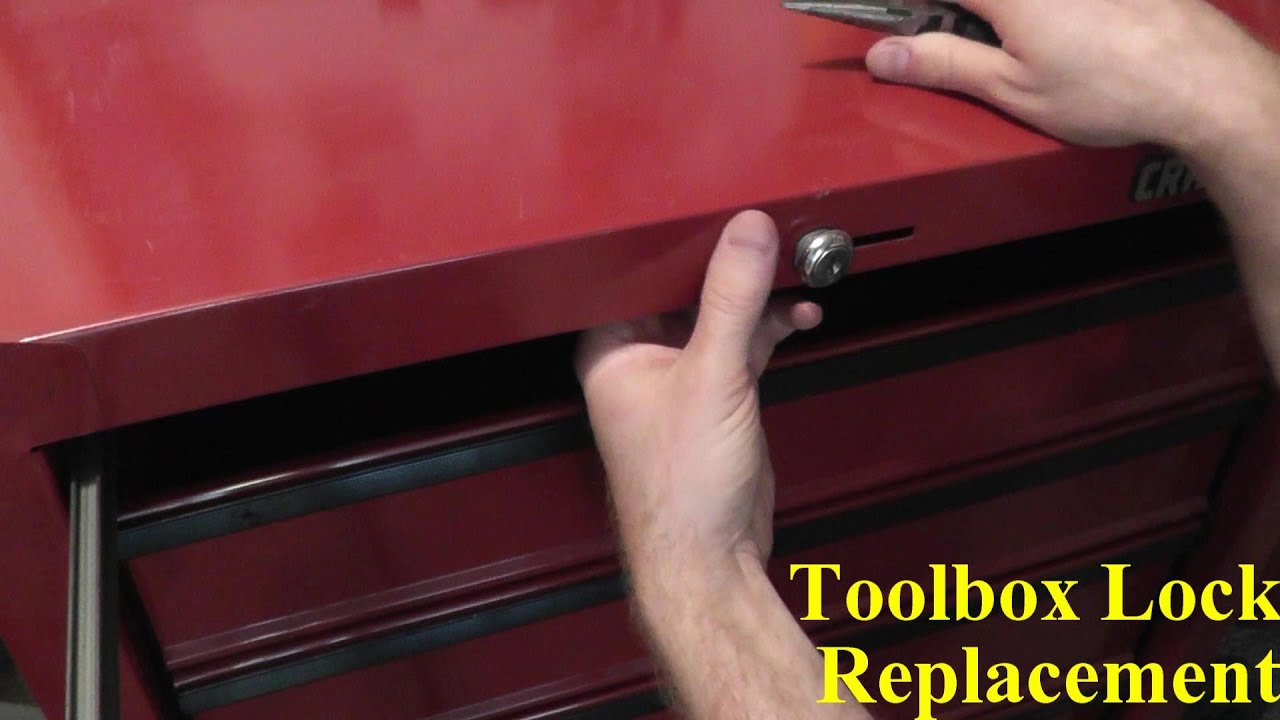 Craftsman Tool Chest Lock Replacement - YouTube