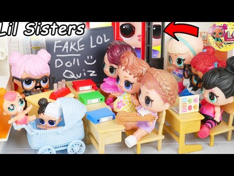 Barbie LOL Goldie Family Fashion Morning Routine in Pink Airplane