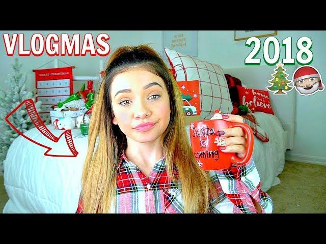 Vlogmas Planning and Prep | *Christmas 2018 Decoration and Prep