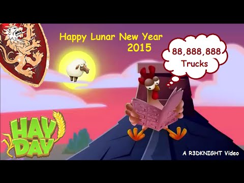 hay day chinese lunar new year 2015 truck event - Chinese Lunar New Year 2015