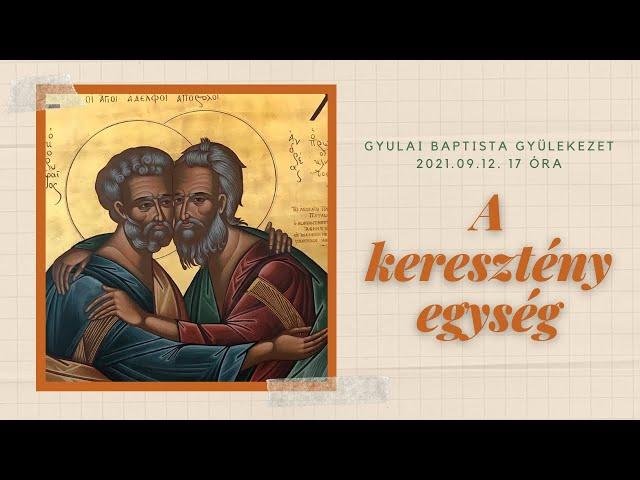A keresztény egység
