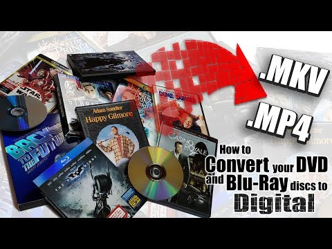How To Create A Digital Backup Copy Of Your DVD & Blu Ray Movies - MakeMKV & HandBrake