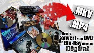 How to Create a Digital Backup Copy of Your DVD & Blu ray Movies - MakeMKV & HandBrake
