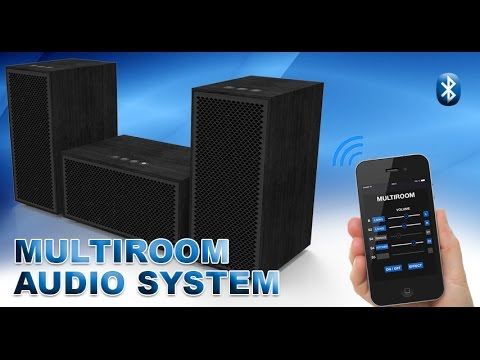 multi room audio system by multiroom youtube. Black Bedroom Furniture Sets. Home Design Ideas