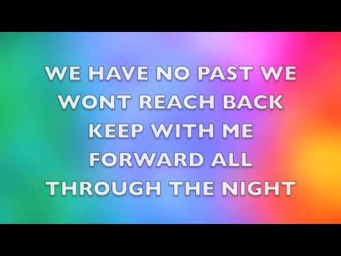All through the night lyrics