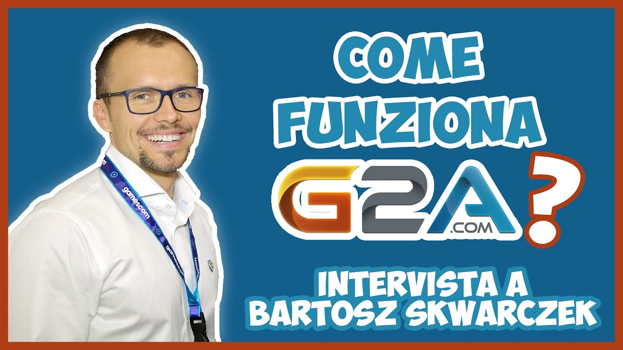 How does G2A work? Interview with CEO Bartosz Skwarczek - YouTube