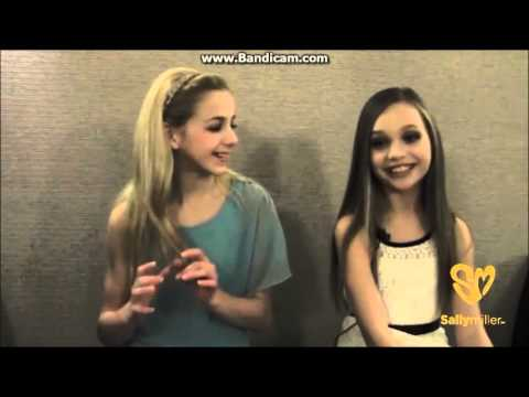 Sally Miller Interviews with Chloe Lukasiak and Maddie Ziegler