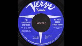 Watch Righteous Brothers He Will Break Your Heart Single Version video