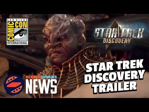 Star Trek Discovery Comic Con Trailer Reaction! - SDCC 2017