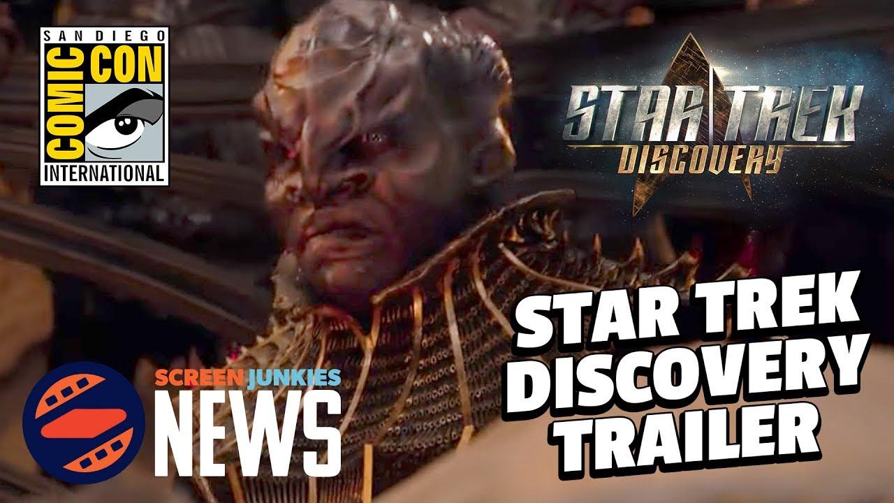 Star Trek Discovery Comic Con Trailer ...