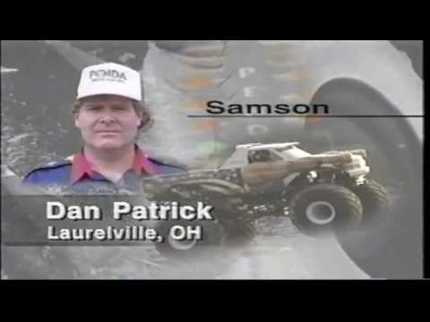 1996 PENDA Monster Truck Challenge Indianapolis, IN Race 1