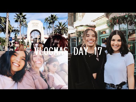 VLOGMAS DAY 17 | WE WENT TO UNIVERSAL STUDIOS | Faye Claire
