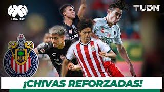 ¡Los nuevos jugadores de las Chivas ya están en Guadalajara! I TUDN
