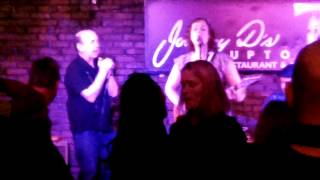 Erin Harpe & The Delta Swingers - Love Whip Blues - Somerville, MA - 11.8.14