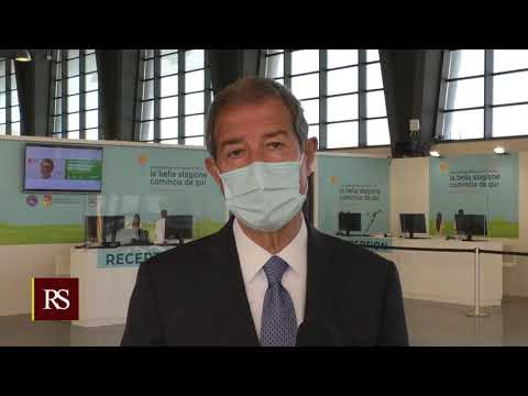 Catania, Covid, Musumeci inaugura il secondo hub regionale per la vaccinazione