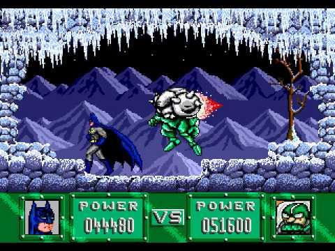 Mega Drive Longplay [226] Batman - Revenge of the Joker