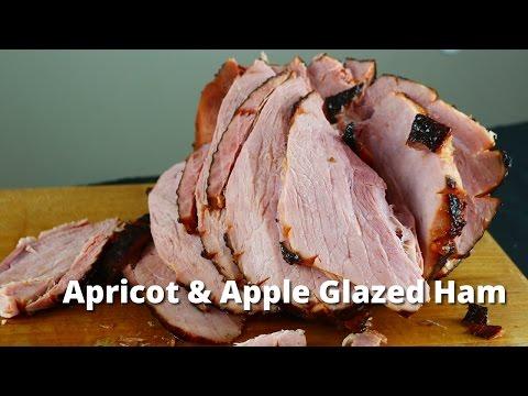 Apricot & Apple Glazed Ham | Smoked Ham Recipe With Apricot Glaze