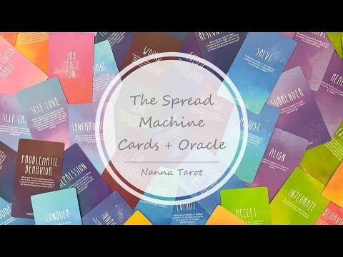 開箱  牌陣延展神諭卡 • The Spread Machine Cards + Oracle // Nanna Tarot