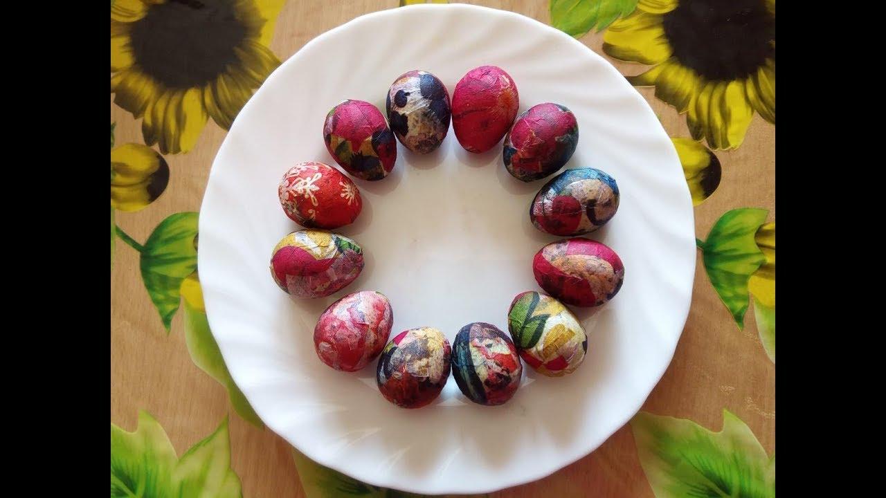 Украшение пасхального яйца своими руками раскраска красим ...