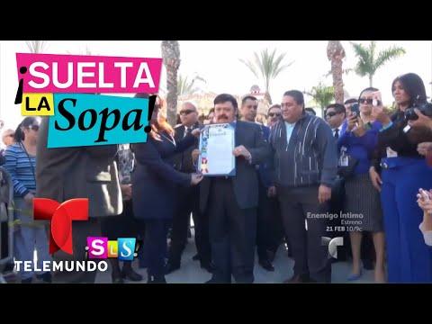 Honran la trayectoria de Ramón Ayala | Suelta La Sopa | Entretenimiento