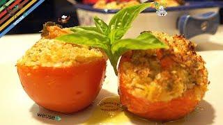 237 - Pomodori farciti...si ripigliano i feriti! (piatto unico vegetariano facile buono e  veloce)
