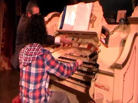 Blackpool Tower Ballroom Organ Experience - Dominic Standing (Part 2)