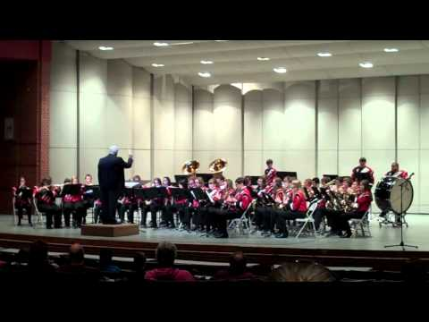 Norfolk Catholic High School at 2012 District Music Contest - March