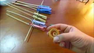 Корзинка с бабочками из газетных трубочек. урок 3. Квиллинг из газетных трубочек.