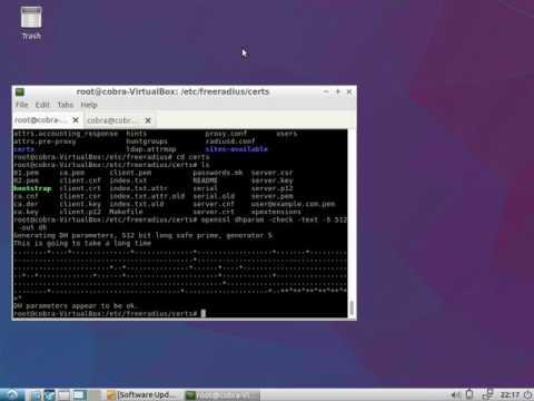 Enable EAP-TLS for Freeradius