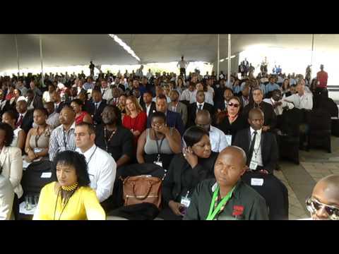 President Zuma launches Dube trade port Industrial Development Zone in Durban