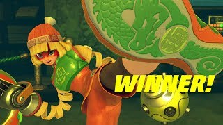 ARMS Gameplay - Min Min (60 FPS) Nintendo Switch