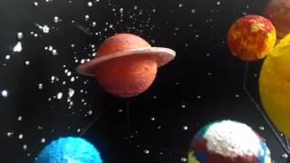Модель солнечной системы своими руками, поделка в детский сад