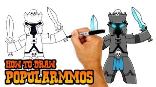 How to Draw PopularMMOs | Drawing Lesson