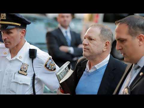 Harvey Weinstein surrenders to NYPD, arrested and charged with rape, criminal sex act Mp3