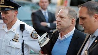 Harvey Weinstein surrenders to NYPD, arrested and charged with rape, criminal sex act