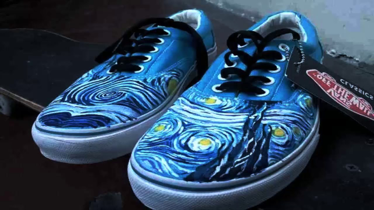 26a120a7081752 Vans reveals Van Gogh inspired shoes and clothing - YouTube