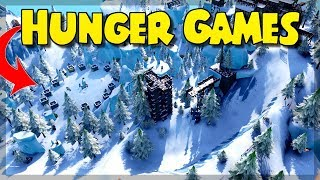 HUNGER GAMES in FORTNITE | My map presented (code in the description)