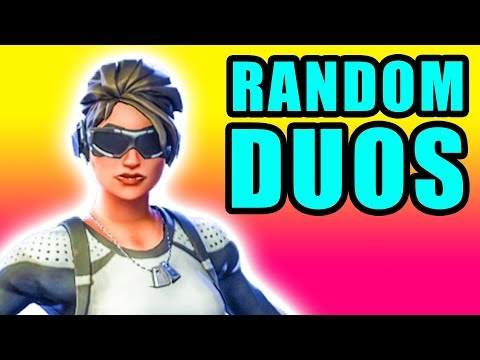 Random Duos! 🔥 Fortnite Fly Explosives Gameplay