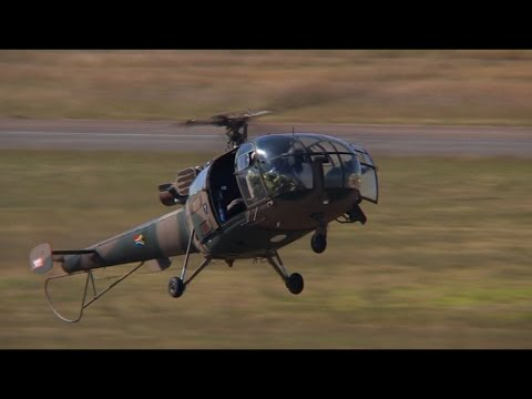 Alouette III Military Helicopter South African Air Force