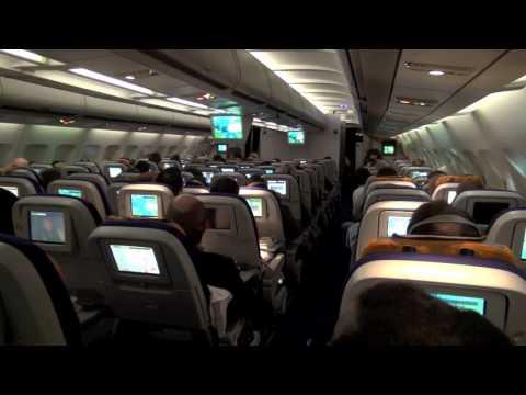 Turbulent Flight To New York - 17.01.2012