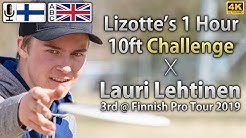 The 1 Hour 10ft Challenge Done by Lauri Lehtinen