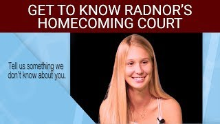 Radnor Rapid Response: 2018 Homecoming Court