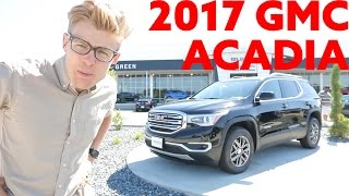 2017 gmc acadia slt   all new 6 passenger suv