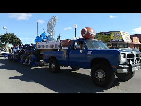 Desfile de  JOLIET CENTRAL HIGH SCHOOL y  GOMPERS JR.HIGH SCHOOL.?????DRM?09/22/2018