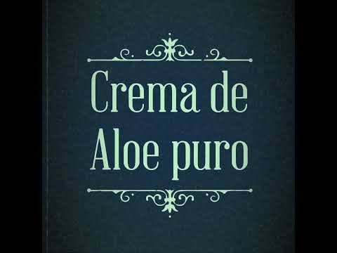 Crema de Aloe puro base neutra