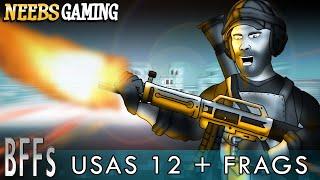 Battlefield Friends - USAS 12 + Frags