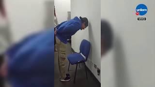 """El """"chair challenge"""" se volvió furor en las redes"""