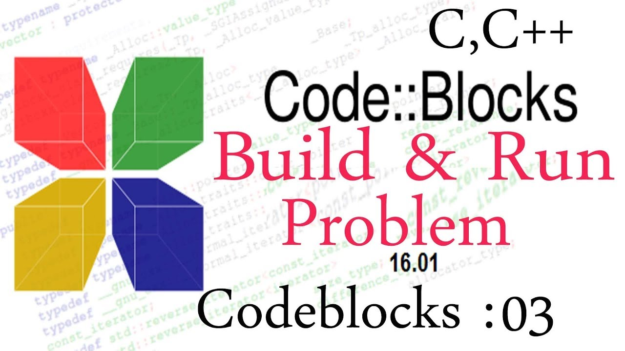 how to solve codeblocks compiler problem solution for build and run problem [ 1280 x 720 Pixel ]