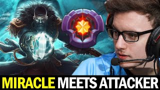 when MIRACLE meets ATTACKER Kunkka — Who will Carry the Game?