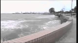Padang Kota , Pulau Pinang . Ombak Besar